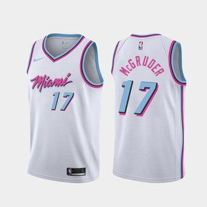 Men's Miami Heat Rodney McGruder Jersey